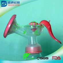 医疗硅胶代加工吸奶器、母婴专属硅胶喇叭罩、高透明无尘硅胶吸奶罩