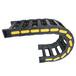 滄州機床產業帶機床保護電纜穿線塑料拖鏈