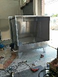 供应流水线工作台皮带线物流线插件线木板线喷油水濂柜图片1