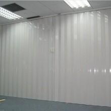重庆PVC折叠门,铝合金折叠门,塑料推拉折叠门图片
