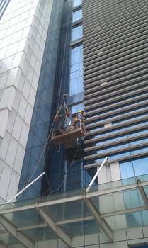 深圳广州高空外墙清洗翻新保养冠邦幕墙图片1