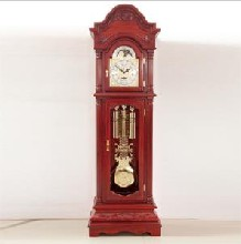 原厂现货批发进口立钟中式复古座钟音乐时钟系列图片