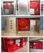绿屏消防厂家生产定制消防器材PSG30泡沫消火栓箱