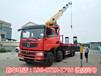 安庆东风前四后八16吨随车吊厂家配置介绍