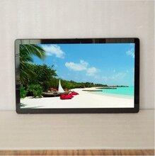 厂家直销批发19寸开放式宽纯平电容触摸显示器电容触显3C认证