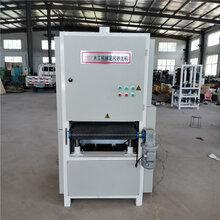 全自動砂光機重型定尺寬帶打磨拋光拉絲打磨機廠家定制