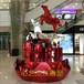商场万达装饰品商业美陈道具雕塑创意造型飞马系列玻璃钢道具