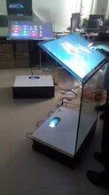 触摸水晶讲台/悬浮成像空凌透明触控一体机/全息纳米/空盈触摸屏图片