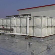 玻璃鋼水箱不銹鋼水箱組合水箱鍍鋅水箱科力制作維修一體化圖片