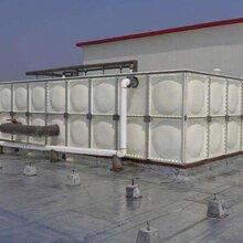 玻璃钢水箱不锈钢水箱SMC水箱地埋式水箱科力制作维修一体化图片