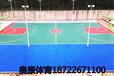 北京大興區籃球場鋪設劃線硅PU塑膠籃球場面漆硅PU籃球場施工專業施工團隊