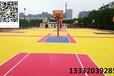 天津硬地丙烯酸篮球场画线翻新建设施工工程施工公司绿蓝搭配很赞的