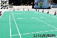 天津彈性丙烯酸塑膠地面羽毛球場劃線翻新施工施工單位誠信為本