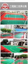 河南商丘室内篮球场地施工篮球场塑胶跑道篮球场地坪建设