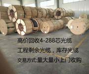 阿坝藏族羌族自治州回收36芯通信光缆回收二手工程剩余光缆图片