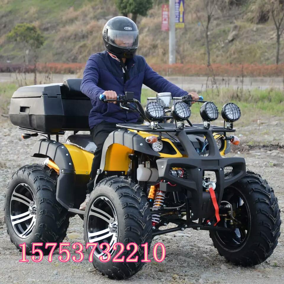 山东四轮摩托越野车链条传动四轮摩托车经济实惠还保修