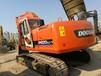 出售纯土方斗山220-7挖机现场可提供场地试车