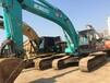 神钢380纯土方二手挖掘机出售现场可试车手续齐全