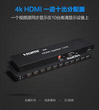 索飞翔HDMI高清分频器一分十高清传输器视频分配器110Splitter