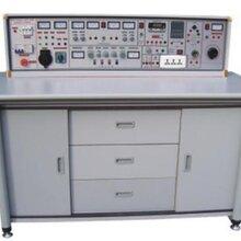 电工电子电力电气实训设备电工电子电拖(带直流电机)技能实训与考核实验室成套设备图片