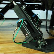 六自由度动感汽车驾驶模拟器专用平台图片