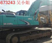 大量现货供应二手挖掘机神钢SK350-8图片
