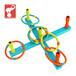 淘宝热卖创意儿童感统训练彩色套圈游戏玩具套圈环保安全
