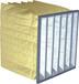 耐高温过滤器,玻纤袋式过滤器,空气过滤器,耐高温玻纤空气过滤器