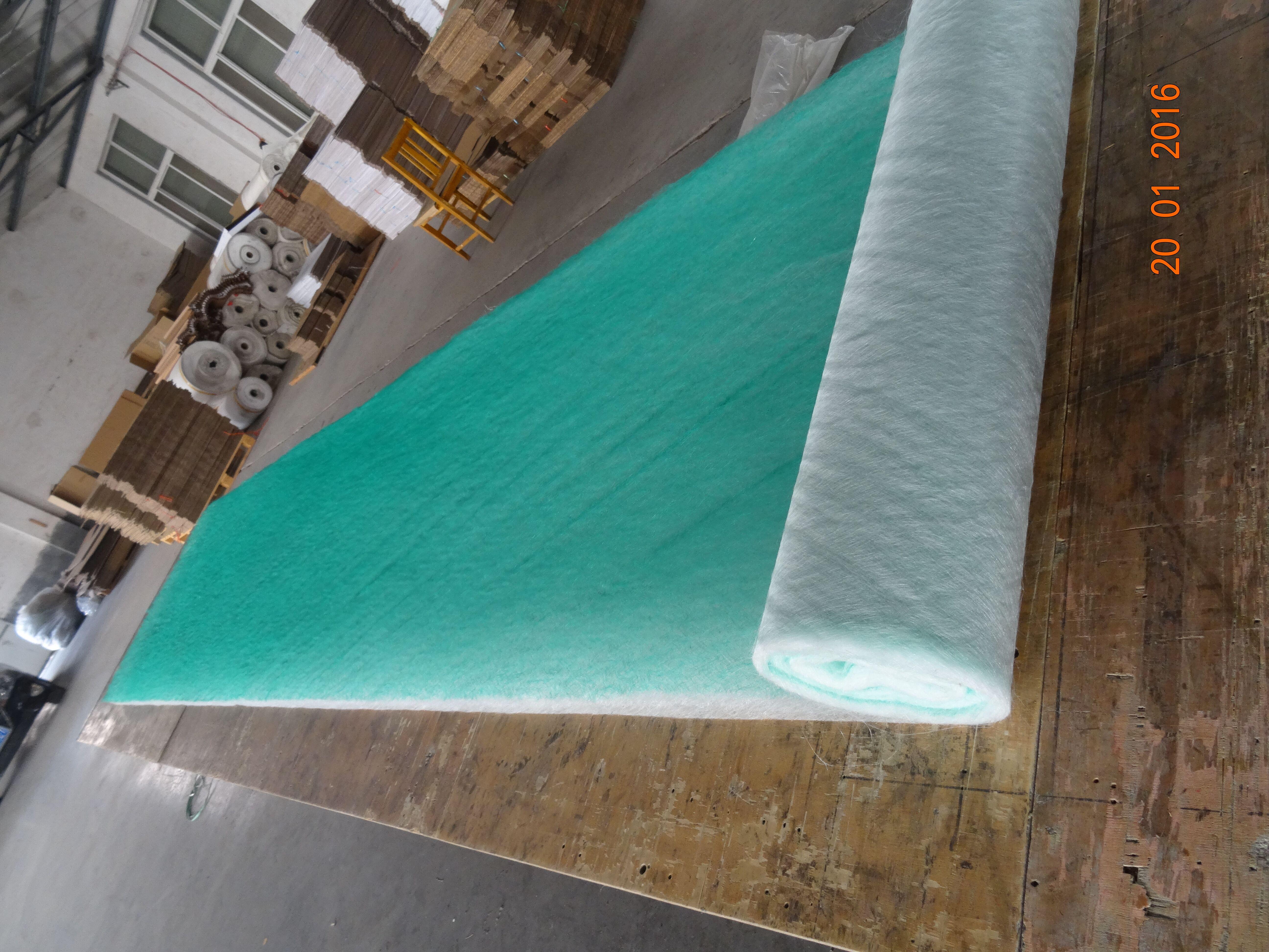 油漆过滤棉涂装漆雾毡玻璃纤维地棉空气净化初效阻漆网地棉