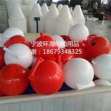 厂家长期供应海上塑料浮体警示海上浮球图片