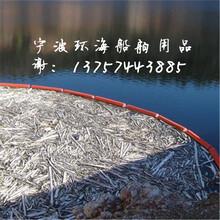 电厂拦污网浮筒水库水口拦污排耐撞击塑料浮筒图片