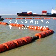 大浮力塑料拦污排耐老化拦渣浮体拦污塑料漂排图片