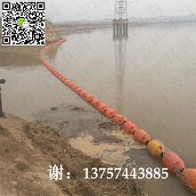 聚乙烯拦污浮体水质保护拦污浮体水库周围拦污浮筒图片