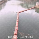 河道警戒作用浮筒鄭州塑料攔渣浮體批發定製圓柱浮子