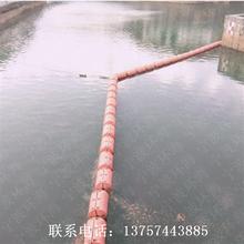 水面拦渣塑料浮筒水库优质防腐浮体拦渣塑料浮漂价格定制