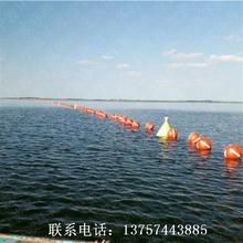 河道塑料定制浮筒航道警戒塑料浮漂湖面拦渣浮体厂家