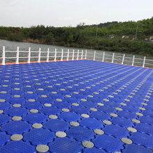 江蘇湖泊漁業養殖浮排水面浮橋碼頭搭建PE塑料組合內部填充浮箱
