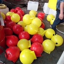 航道警示浮球塑料浮球海上聚乙烯塑料標志批發滾塑浮球批發