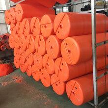 水面航道攔污一體式水產養殖浮筒垃圾攔截浮筒直徑500mm