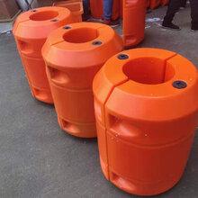 海上掛網攔污浮筒水草垃圾攔截組合式浮筒水庫攔污打撈浮筒