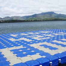 觀景釣魚養殖塑料浮筒水上平臺水上摩托艇碼頭漂浮平臺游船碼頭