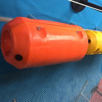 電站大壩浮筒內河水草雜物攔截組合式浮筒加工隔離打撈浮筒