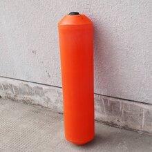 水庫泡沫填充浮筒可穿繩子的塑料浮筒海上垃圾阻擋浮筒