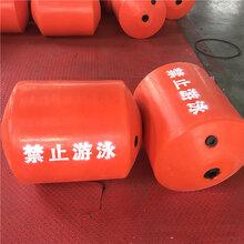 水產養殖網箱浮體水上攔截浮橋浮體品質聚乙烯一體式攔污浮筒