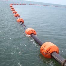 兩半片塑料夾管浮筒水上浮體工程海上輸油管道兩半片組合浮筒