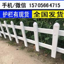苏州市吴中区pvc栏杆PVC塑钢围墙护栏学校围栏表面光洁图片