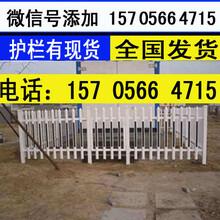 杭州市富阳市pvc塑钢栅栏pvc栏杆送立柱吗?图片