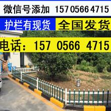 濮阳市濮阳县pvc护栏PVC塑钢围墙护栏价格设计合理图片