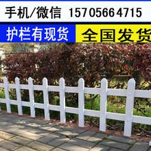 阜阳市颍东区绿化栏杆塑料栅栏花草栏杆竹子篱笆围栏图片