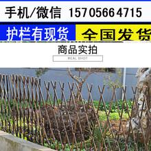 石家庄长安区塑钢护栏花坛栏杆竹篱笆市场走向图片